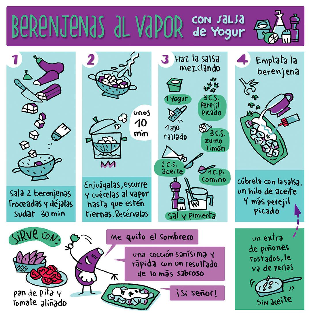 berenjena-vapor-con-salsa-yogur